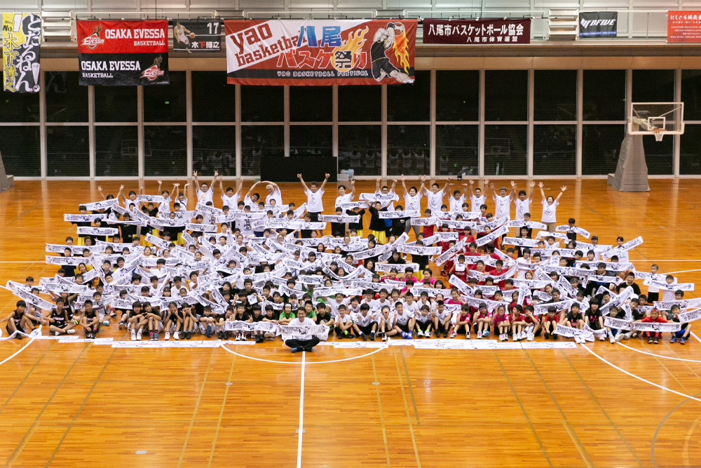 八尾バスケ祭り2019 無事に終了しました。画像